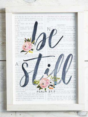 Be Still Wall Art - A'Beautiful Soul