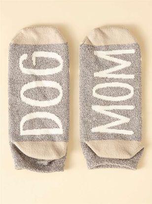 Paw Print Dog Mom Socks - A'Beautiful Soul