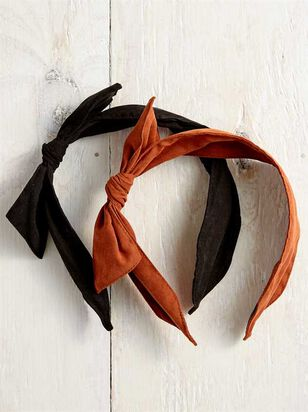 Suede Knot Headband - 2 pack - A'Beautiful Soul