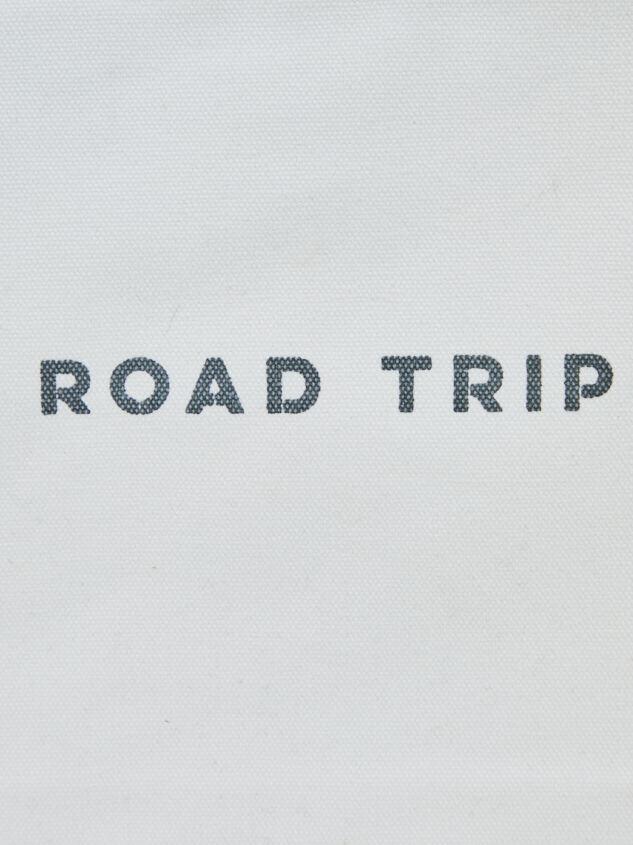 Road Trip Canvas Pouch Detail 2 - A'Beautiful Soul