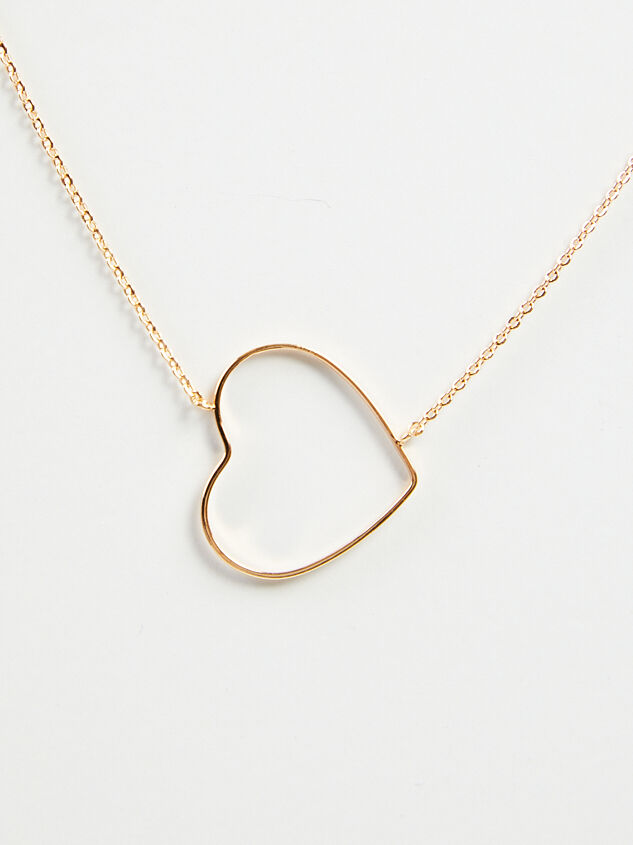 Dainty Heart Necklace Detail 3 - A'Beautiful Soul