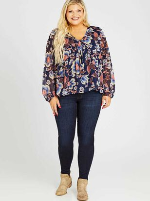 Waist Smoothing Skinny Jeans - Goldie - A'Beautiful Soul
