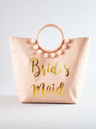 Vow'd Bridesmaid Tote - A'Beautiful Soul