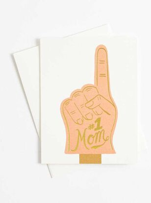 #1 Mom Card - A'Beautiful Soul