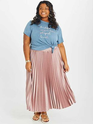 Avenue Midi Skirt - A'Beautiful Soul