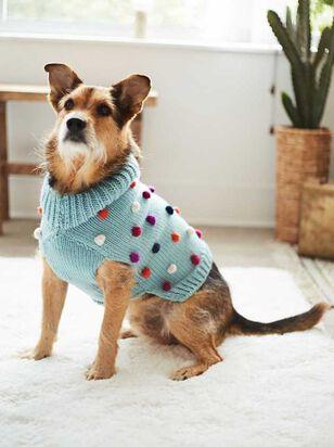 Bear & Ollie's Dog Pom Pom Sweater - A'Beautiful Soul