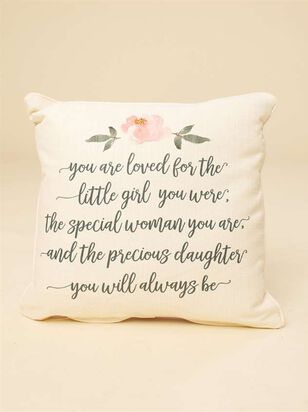 You are Loved Pillow - A'Beautiful Soul