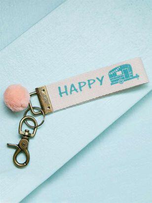 Happy Camper Keychain - A'Beautiful Soul