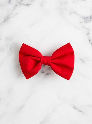 Bear & Ollie's Red Dog Bow Tie - A'Beautiful Soul