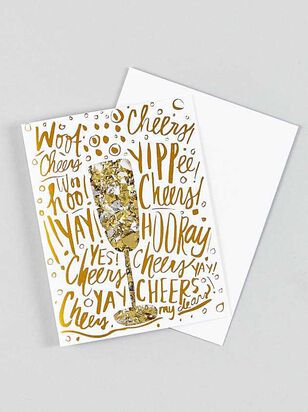 Vow'd Celebration Confetti Card - A'Beautiful Soul