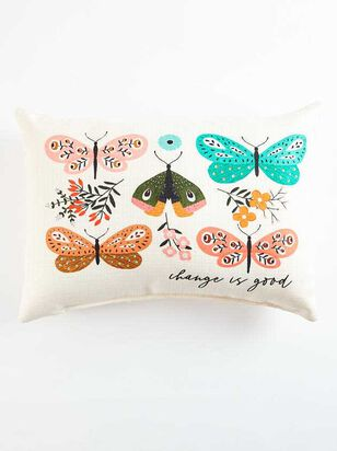 Change is Good Butterfly Pillow - A'Beautiful Soul