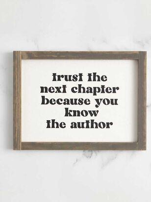 Trust the Next Chapter Wall Art - A'Beautiful Soul