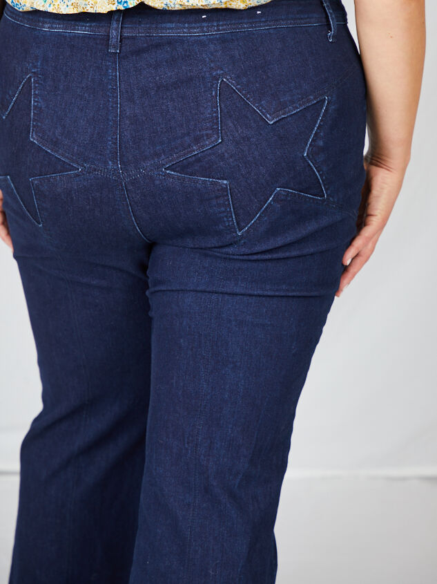 Incrediflex Star Flare Jeans Detail 2 - A'Beautiful Soul