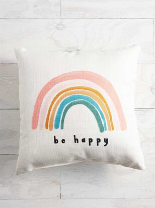 Be Happy Pillow - A'Beautiful Soul