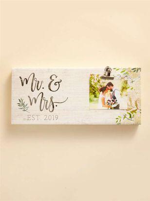 Mr. & Mrs. Est 2019 Clip Frame - A'Beautiful Soul