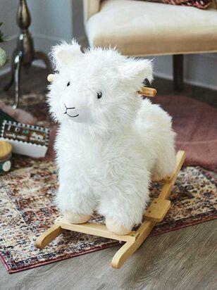Tullabee Wooden Rocking Llama - A'Beautiful Soul