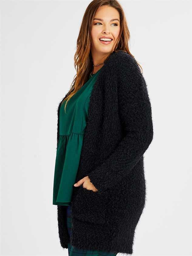 Lovely Lash Cardigan Sweater Detail 2 - A'Beautiful Soul
