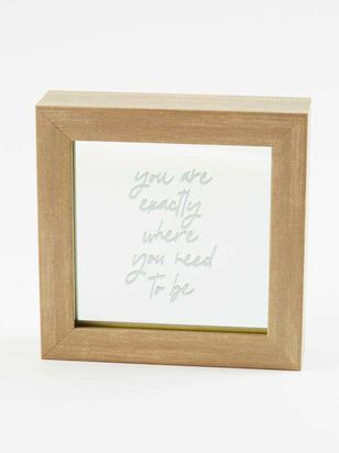 Where You Need To Be Mirror Frame - A'Beautiful Soul