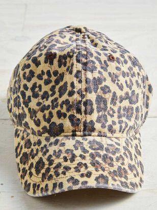 Leopard Baseball Hat - A'Beautiful Soul