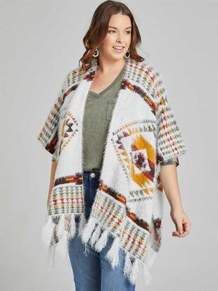 Manitou Poncho Sweater - A'Beautiful Soul