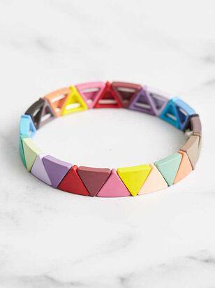 Triangle Tile Bracelet - A'Beautiful Soul