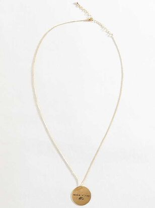 Good Vibes Necklace - A'Beautiful Soul
