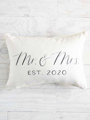 Mr. & Mrs. 2020 Pillow - A'Beautiful Soul