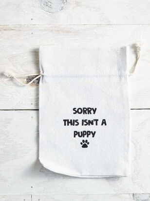Sorry Isn't a Puppy Gift Bag - A'Beautiful Soul