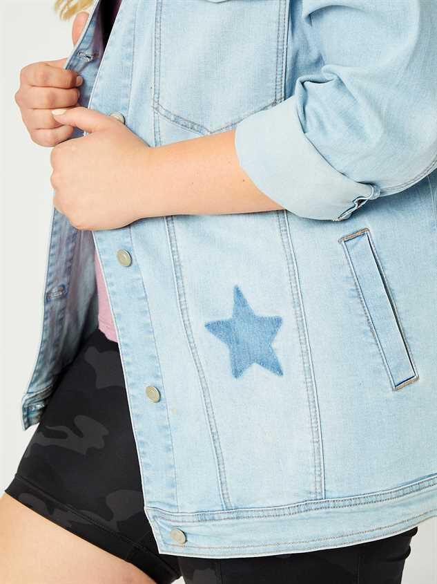 You're A Star Denim Jacket Detail 5 - A'Beautiful Soul