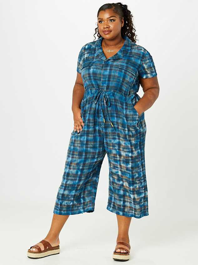 Collins Plaid Jumpsuit - A'Beautiful Soul
