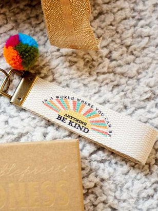 Be Kind Keychain - A'Beautiful Soul
