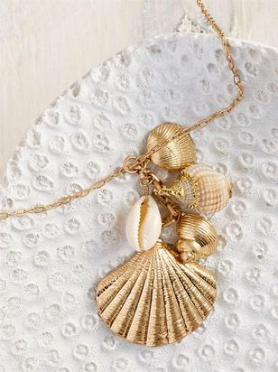 Shell Cluster Necklace - A'Beautiful Soul