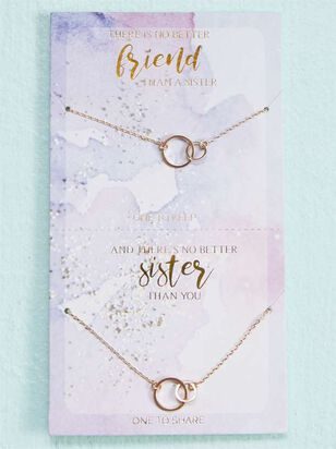 No Better Sister Necklace Set - A'Beautiful Soul