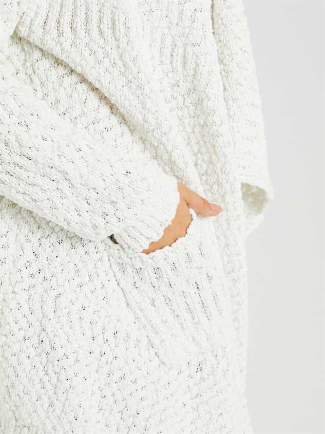 Bubbly Cardigan Sweater Detail 4 - A'Beautiful Soul