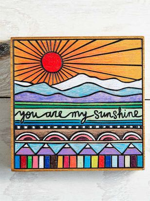 You are My Sunshine Block Sign - A'Beautiful Soul