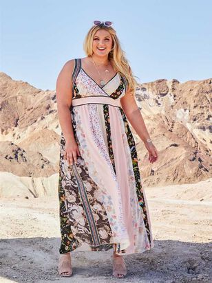 Zarina Maxi Dress - A'Beautiful Soul