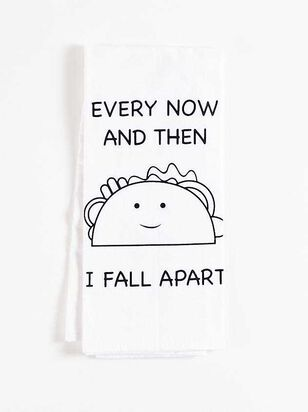 Now and Then Taco Hand Towel - A'Beautiful Soul