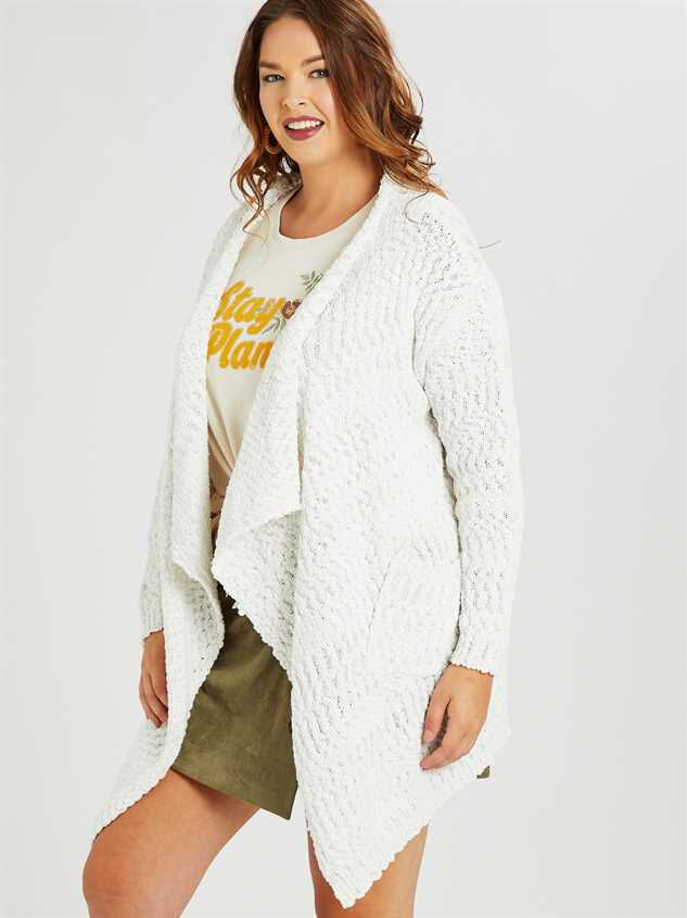 Bubbly Cardigan Sweater Detail 2 - A'Beautiful Soul