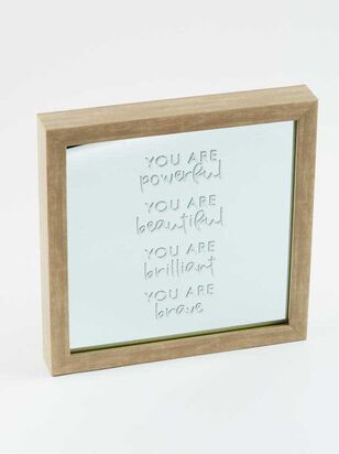 You Are Powerful Mirror Frame - A'Beautiful Soul