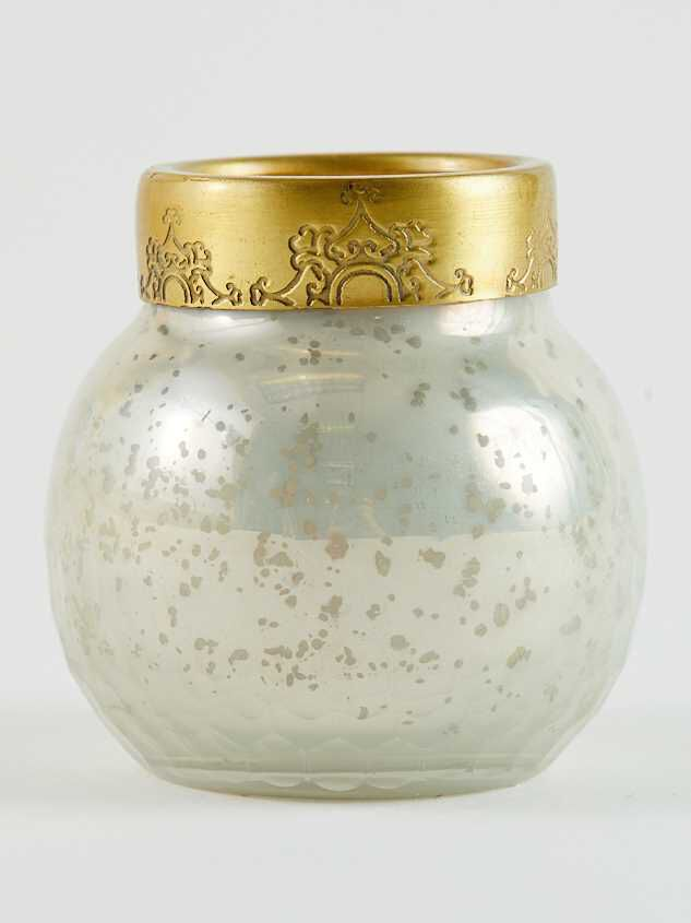 Sanctuary Candle Orb - Pearl - A'Beautiful Soul