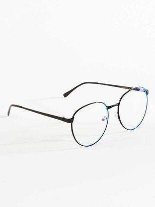 Richardson Round Blue Light Glasses - A'Beautiful Soul