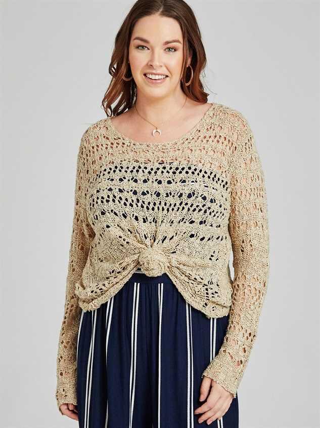 Stratton Sweater Detail 2 - A'Beautiful Soul