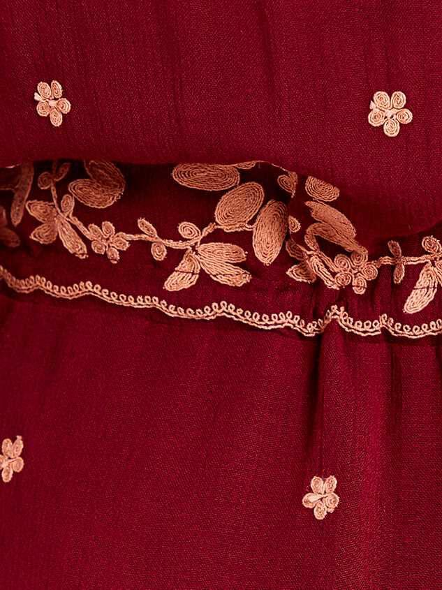 Josie Midi Dress Detail 4 - A'Beautiful Soul