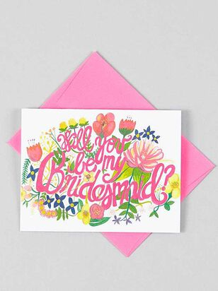 Vow'd Will You Be My Bridesmaid Card - A'Beautiful Soul