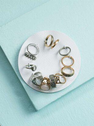 Layering Stone Ring Set - A'Beautiful Soul