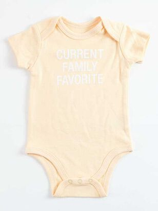Tullabee Current Family Favorite Onesie - A'Beautiful Soul