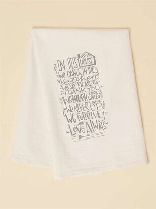 In This House Hand Towel - A'Beautiful Soul
