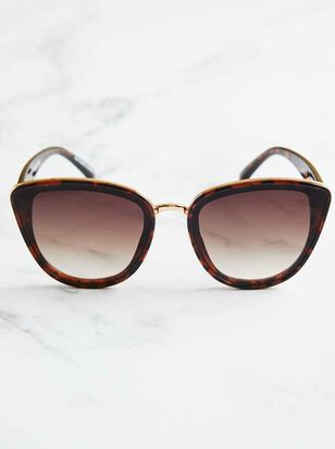 Layla Sunglasses - Brown - A'Beautiful Soul