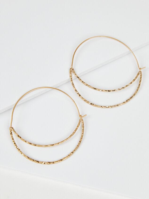Crescent Hoop Earrings - A'Beautiful Soul
