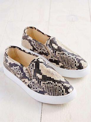 Loni Snakeskin Sneakers - A'Beautiful Soul